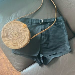 BDG black high rise shorts Urban Outfitters